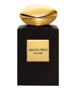 Giorgio Armani Prive Cuir Noir